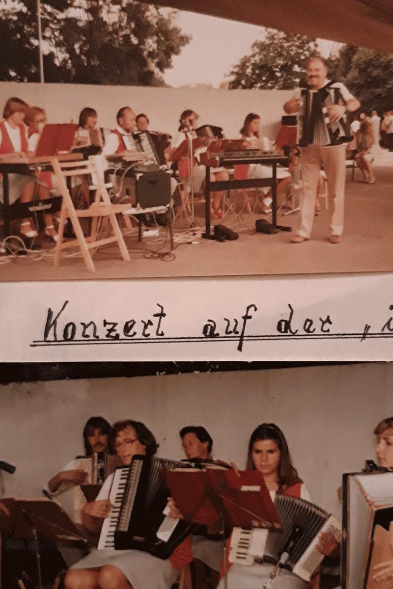 Konzert auf der Iga