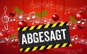 Weihnachtskonzert ABGESAGT